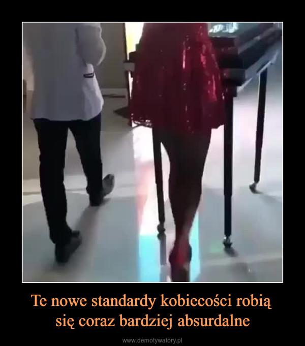 Te nowe standardy kobiecości robią się coraz bardziej absurdalne –