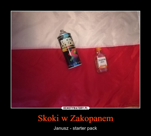 Skoki w Zakopanem – Janusz - starter pack