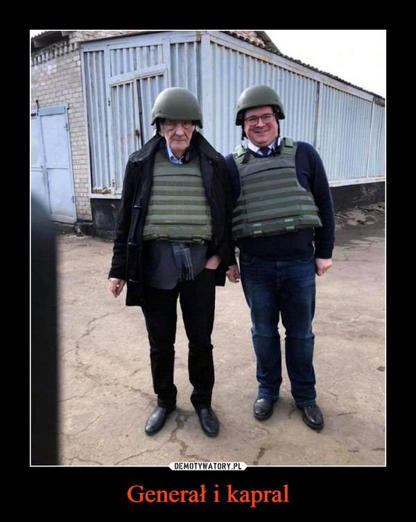 Generał i kapral –