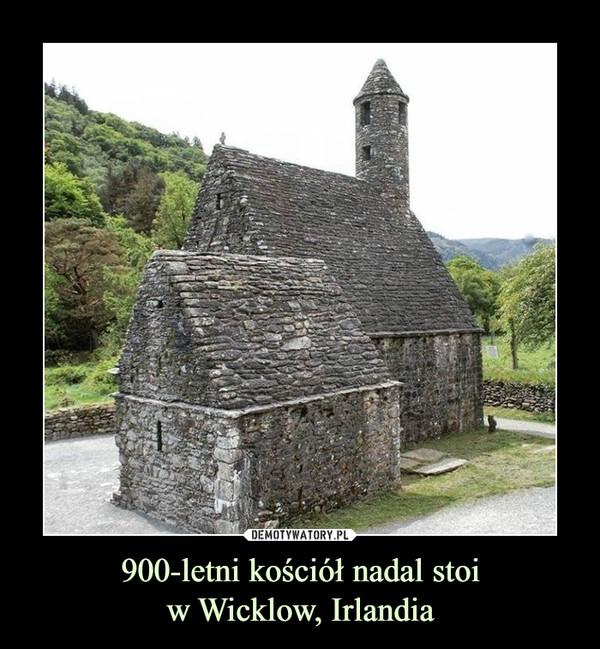 900-letni kościół nadal stoiw Wicklow, Irlandia –