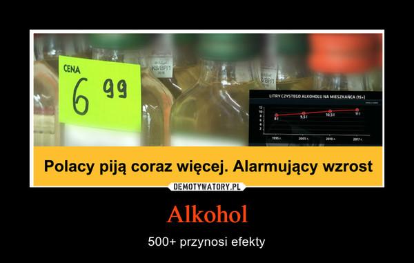 Alkohol – 500+ przynosi efekty