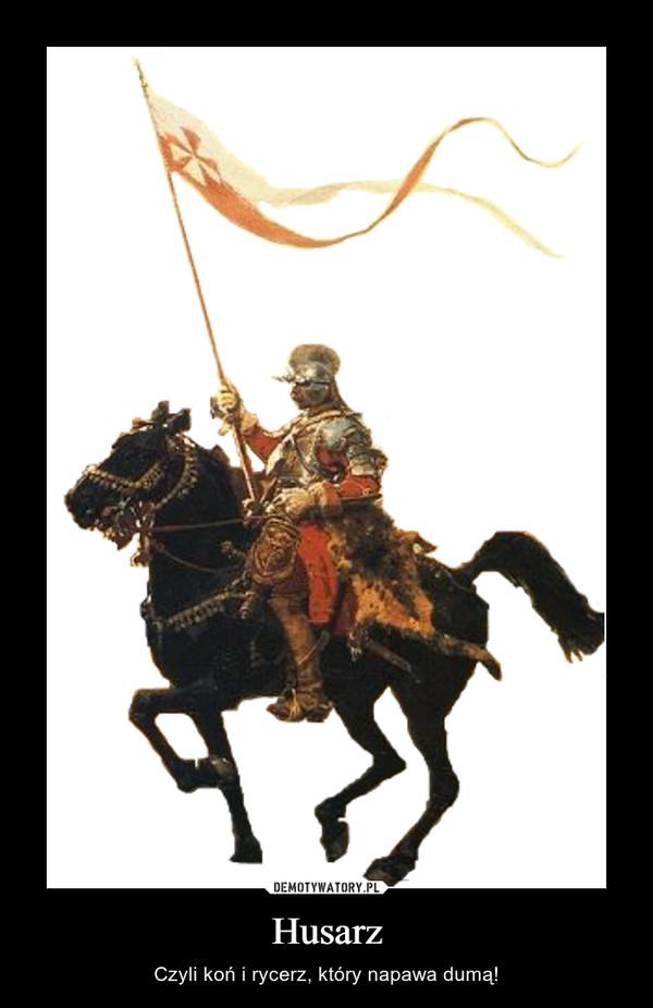 Husarz – Czyli koń i rycerz, który napawa dumą!