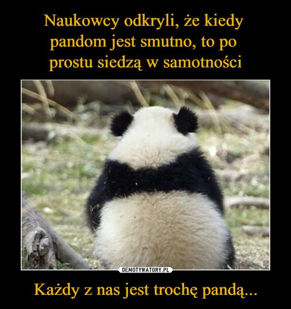 Każdy z nas jest trochę pandą... –