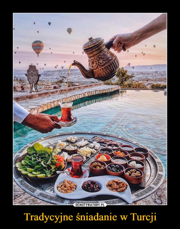 Tradycyjne śniadanie w Turcji –