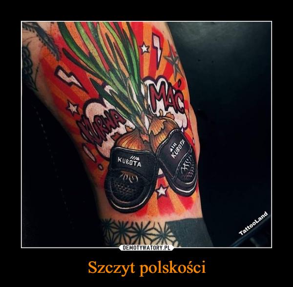 Szczyt polskości –