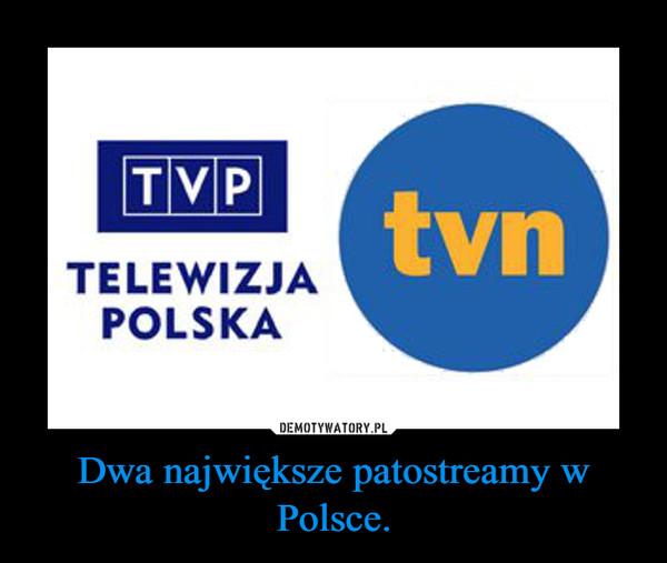 Dwa największe patostreamy w Polsce. –
