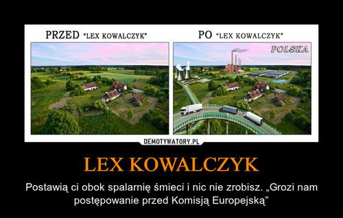 LEX KOWALCZYK