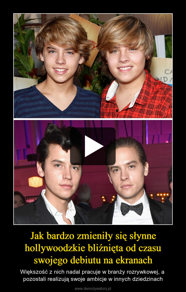 Jak bardzo zmieniły się słynne hollywoodzkie bliźnięta od czasu swojego debiutu na ekranach – Większość z nich nadal pracuje w branży rozrywkowej, a pozostali realizują swoje ambicje w innych dziedzinach
