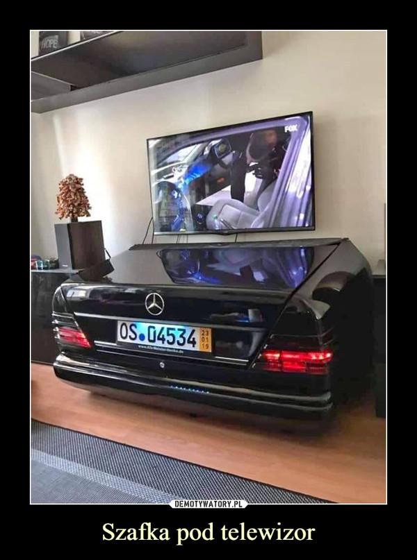 Szafka pod telewizor –