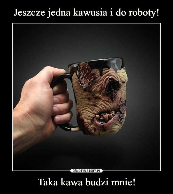 Taka kawa budzi mnie! –
