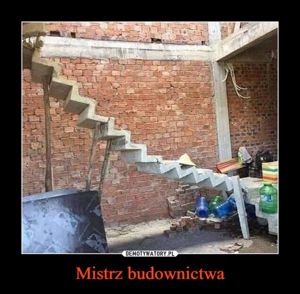 Mistrz budownictwa –