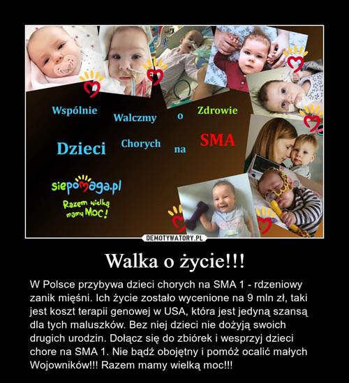 Walka o życie!!!