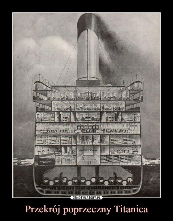 Przekrój poprzeczny Titanica –