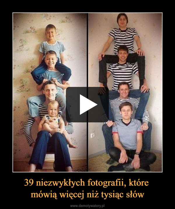 39 niezwykłych fotografii, które mówią więcej niż tysiąc słów –
