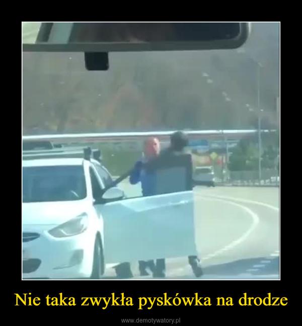 Nie taka zwykła pyskówka na drodze –