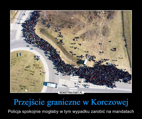 Przejście graniczne w Korczowej – Policja spokojnie mogłaby w tym wypadku zarobić na mandatach