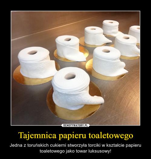 Tajemnica papieru toaletowego