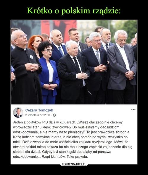 Krótko o polskim rządzie: