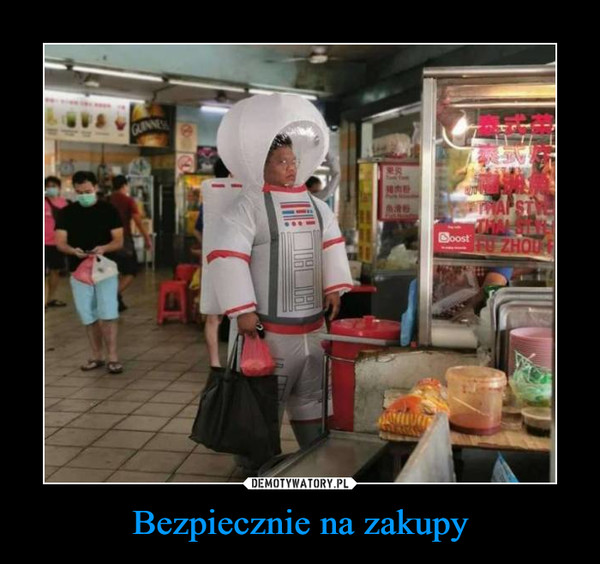 Bezpiecznie na zakupy –