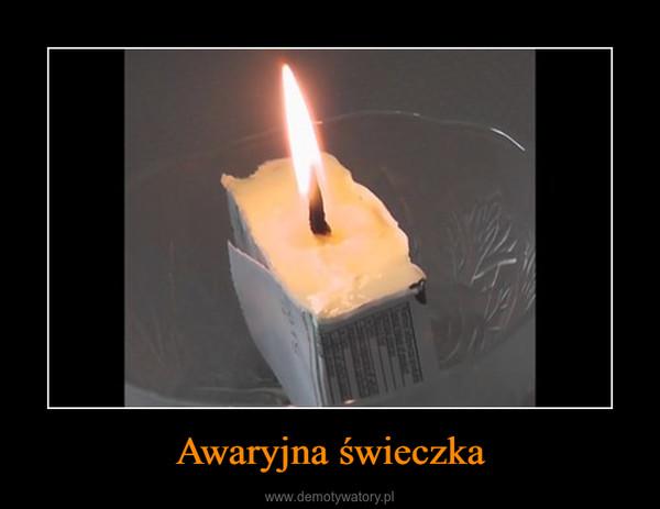 Awaryjna świeczka –