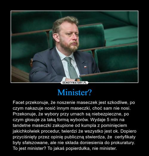 Minister?