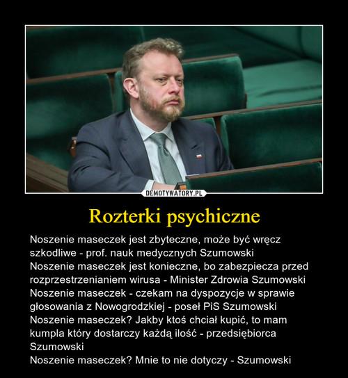 Rozterki psychiczne