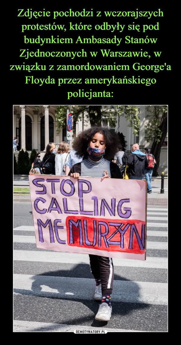 –  STOP CALLING ME MURZYN