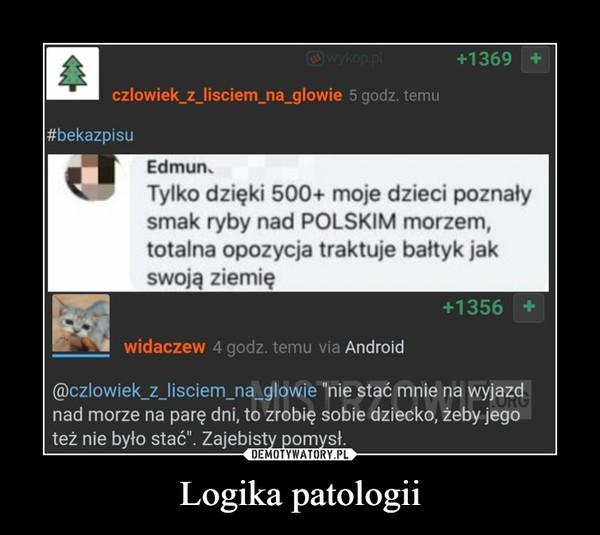 Logika patologii –