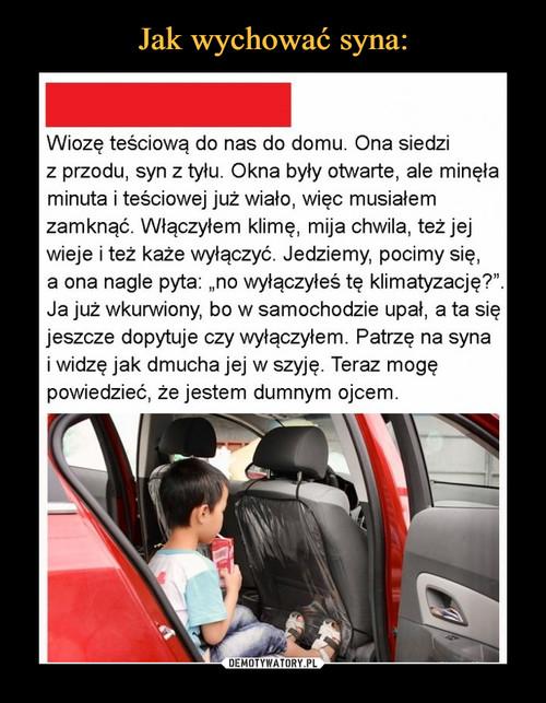 Jak wychować syna: