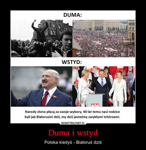 Duma i wstyd