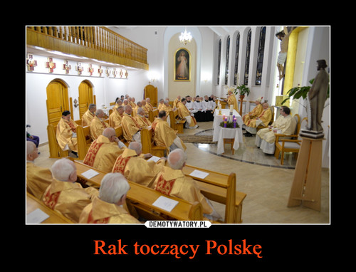 Rak toczący Polskę