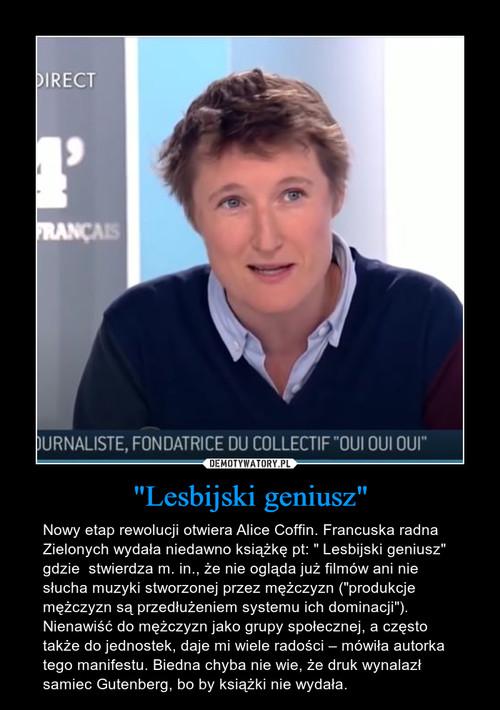 """Lesbijski geniusz"""