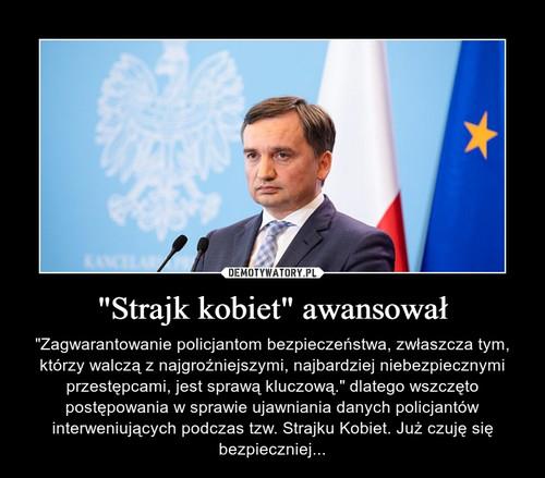 """""""Strajk kobiet"""" awansował"""