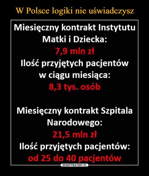 W Polsce logiki nie uświadczysz