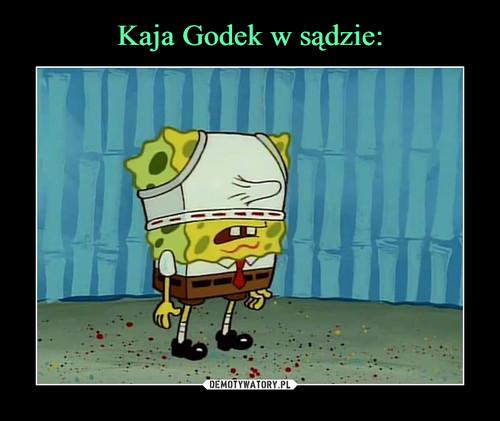 Kaja Godek w sądzie: