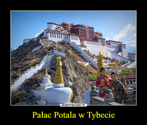 Pałac Potala w Tybecie –