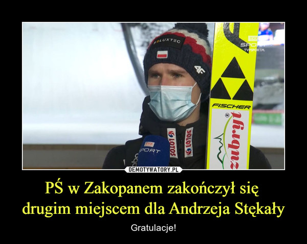 PŚ w Zakopanem zakończył się drugim miejscem dla Andrzeja Stękały – Gratulacje!