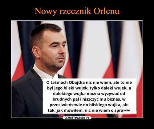 Nowy rzecznik Orlenu