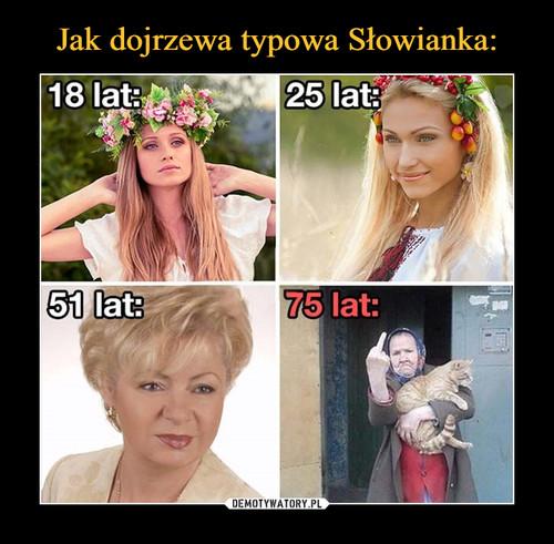 Jak dojrzewa typowa Słowianka: