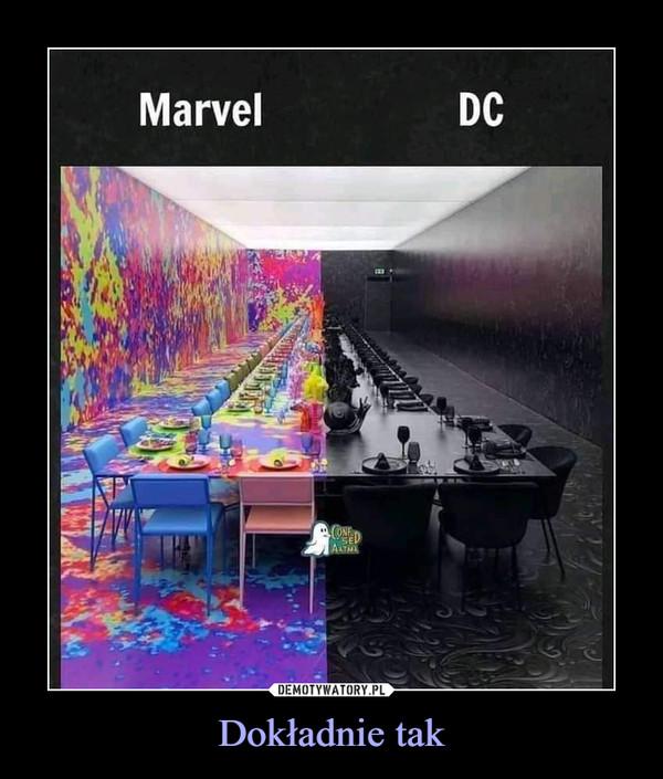 Dokładnie tak –  Marvel DC