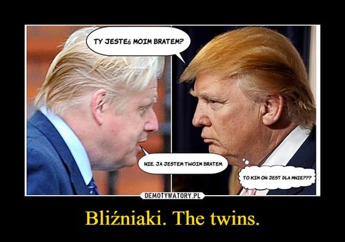 Bliźniaki. The twins.