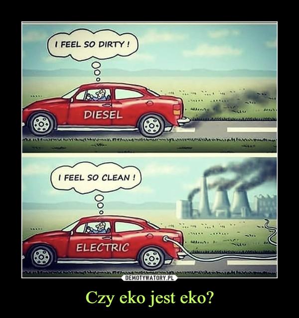 Czy eko jest eko? –