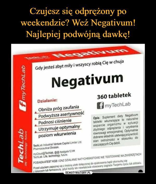 –  negativum