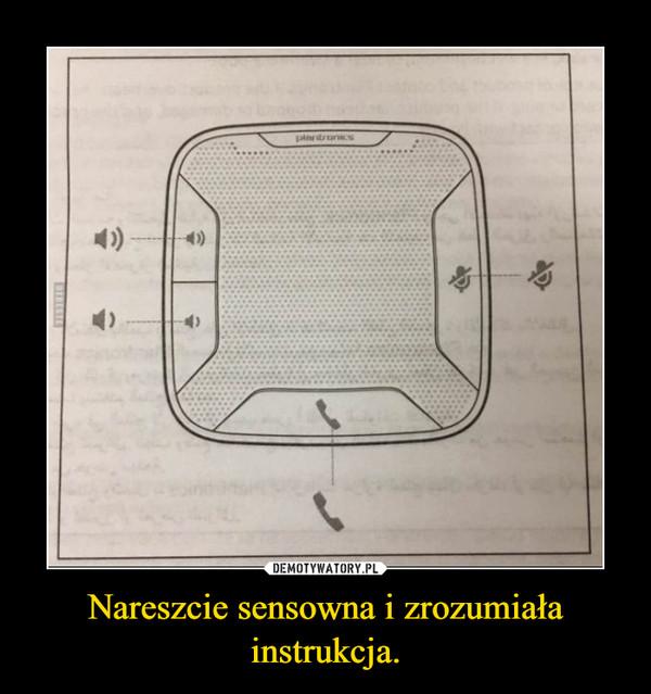 Nareszcie sensowna i zrozumiała instrukcja. –