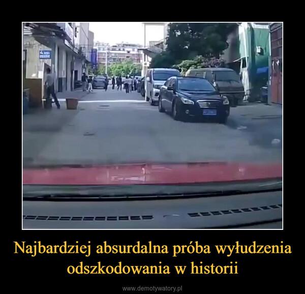Najbardziej absurdalna próba wyłudzenia odszkodowania w historii –  Nawet policjanta zamurowało na widok tego, co ta kobieta odwala