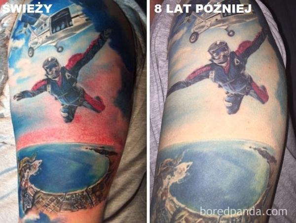 14 Zdjęć Tatuaży Wykonanych Zaraz Po Ich Zrobieniu I Po